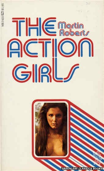 Midnight Reader 1974 MR7421 - The Action Girls by Martin Roberts, cover art by Photo Cover (1974)