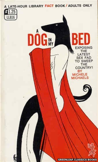 Late-Hour Library LL816 - A Dog In My Bed by Michele Michaels, cover art by Unknown (1969)