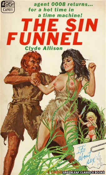 Candid Reader CA901 - The Sin Funnel by Clyde Allison, cover art by Unknown (1967)