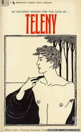 Greenleaf Classics GC313 - Teleny by Oscar Wilde, cover art by Unknown (1968)