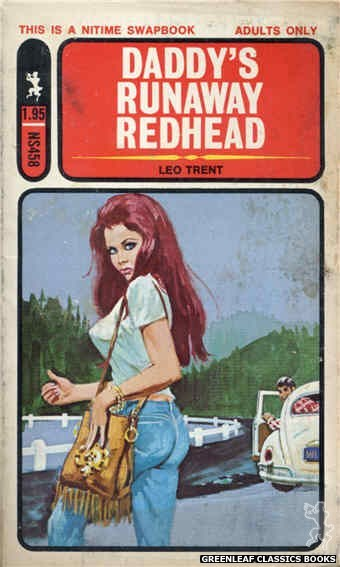 Nitime Swapbooks NS458 - Daddy's Runaway Redhead by Leo Trent, cover art by Unknown (1972)