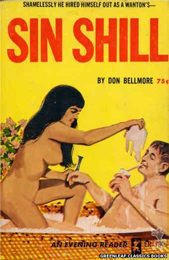 Evening Reader ER790 - Sin Shill by Don Bellmore, cover art by Unknown (1965)