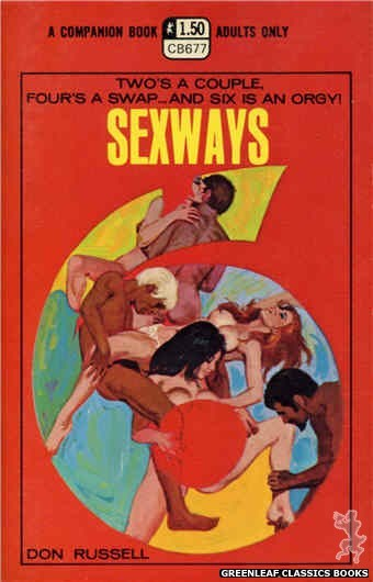 Companion Books CB677 - Sexways by Don Russell, cover art by Robert Bonfils (1970)