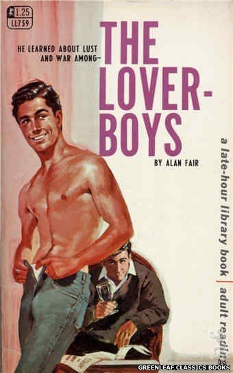 Late-Hour Library LL759 - The Lover-Boys by Alan Fair, cover art by Darrel Millsap (1968)