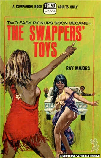 Companion Books CB684 - The Swappers' Toys by Ray Majors, cover art by Unknown (1970)