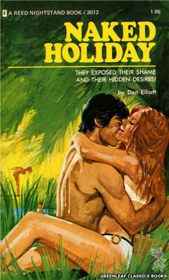 Reed Nightstand 3012 - Naked Holiday by Don Elliott, cover art by Unknown (1973)