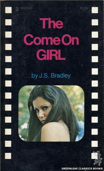 Midnight Reader 1974 MR7540 - The Come On Girl by J.S. Bradley, cover art by Photo Cover (1974)