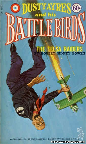 Corinth Regency CR145 - The Telsa Raiders by Robert Sidney Bowen, cover art by Unknown (1966)