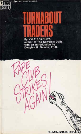 Greenleaf Classics GC415 - Turnabout Traders by Kyle Roxbury, cover art by Unknown (1969)