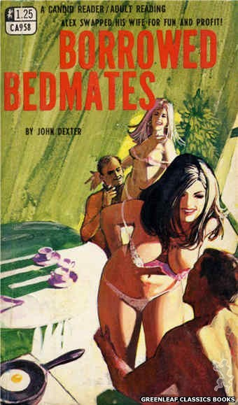 Candid Reader CA958 - Borrowed Bedmates by John Dexter, cover art by Unknown (1968)