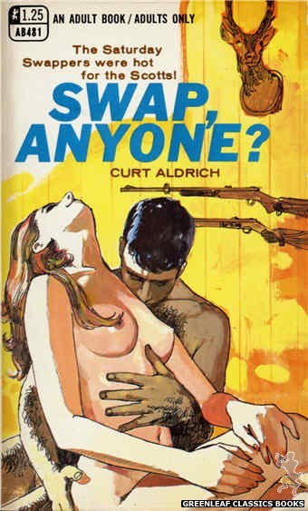 Adult Books AB481 - Swap, Anyone? by Curt Aldrich, cover art by Unknown (1969)