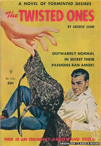 Nightstand Books NB1543 - The Twisted Ones by Andrew Shaw, cover art by Unknown (1961)