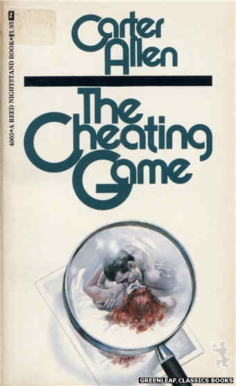 Reed Nightstand 4005 - The Cheating Game by Carter Allen, cover art by Unknown (1974)