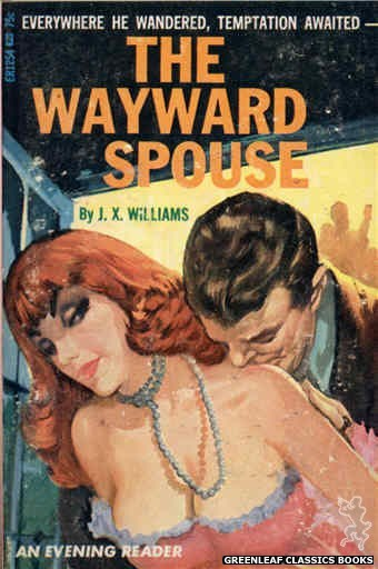 Evening Reader ER1254 - The Wayward Spouse by J.X. Williams, cover art by Unknown (1966)