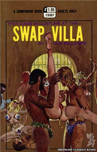 Companion Books CB687 - Swap Villa by Don Bellmore, cover art by Robert Bonfils (1970)