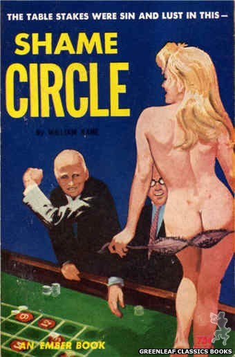 Ember Books EB947 - Shame Circle by William Kane, cover art by Unknown (1964)