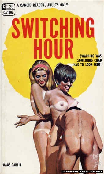 Candid Reader CA1007 - Switching Hour by Gage Carlin, cover art by Darrel Millsap (1969)