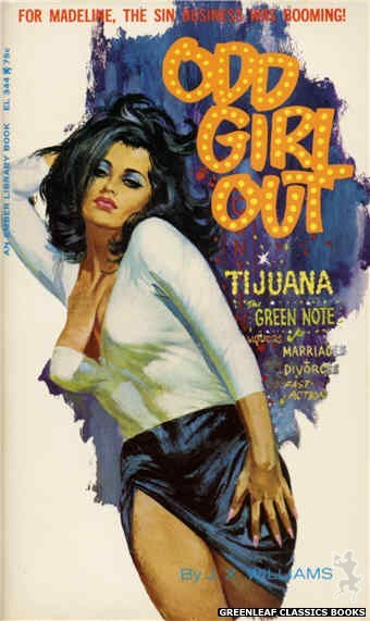 Ember Library EL 344 - Odd Girl Out by J.X. Williams, cover art by Robert Bonfils (1966)