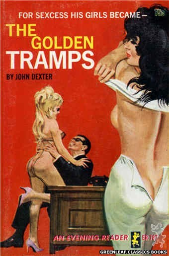 Evening Reader ER787 - The Golden Tramps by John Dexter, cover art by Robert Bonfils (1965)