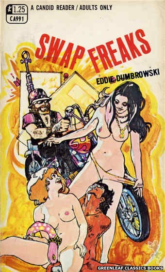 Candid Reader CA991 - Swap Freaks by Eddie Dumbrowski, cover art by Unknown (1969)