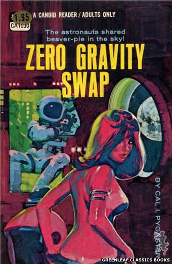 Candid Reader CA1030 - Zero Gravity Swap by Cal I. Pygaster, cover art by Darrel Millsap (1970)