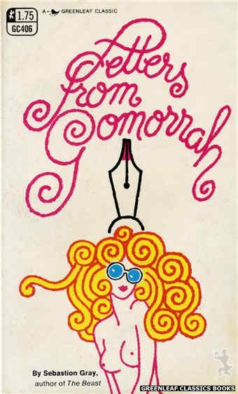 Greenleaf Classics GC406 - Letters From Gomorrah by Sebastion Gray, cover art by Unknown (1969)