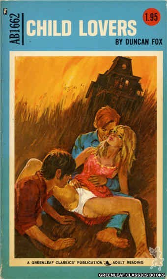 Adult Books AB1662 - Child Lovers by Duncan Fox, cover art by Unknown (1973)