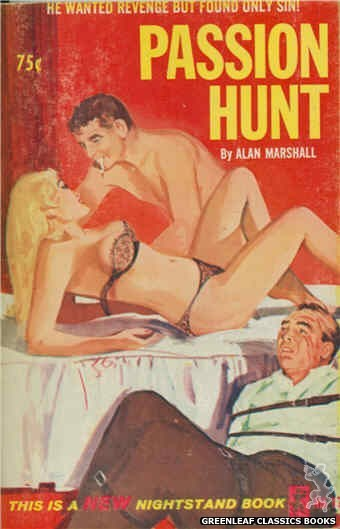 Nightstand Books NB1748 - Passion Hunt by Alan Marshall, cover art by Unknown (1965)