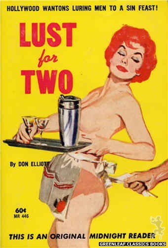 Midnight Reader 1961 MR446 - Lust for Two by Don Elliott, cover art by Unknown (1962)