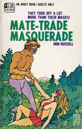 Candid Reader CA1042 - Mate-Trade Masquerade by Don Russell, cover art by Robert Kinyon (1970)