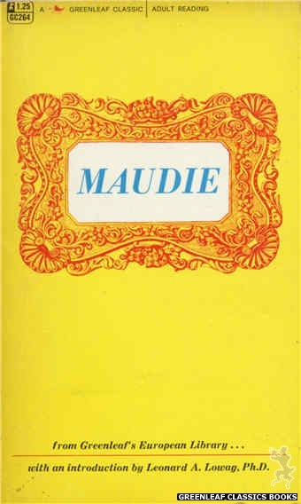 Greenleaf Classics GC264 - Maudie by No-Author-Listed, cover art by design only (1967)