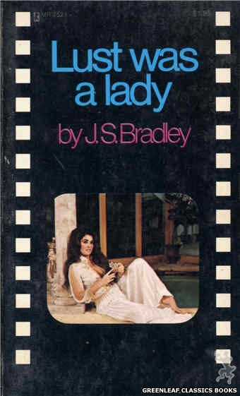 Midnight Reader 1974 MR7521 - Lust Was a Lady by J.S. Bradley, cover art by Photo Cover (1974)