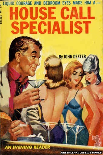 Evening Reader ER1251 - House Call Specialist by John Dexter, cover art by Unknown (1966)