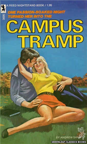 Reed Nightstand 3005 - Campus Tramp by Andrew Shaw, cover art by Ed Smith (1973)