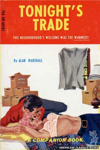 Companion Books CB508 - Tonight's Trade by Alan Marshall, cover art by Darrel Millsap (1967)