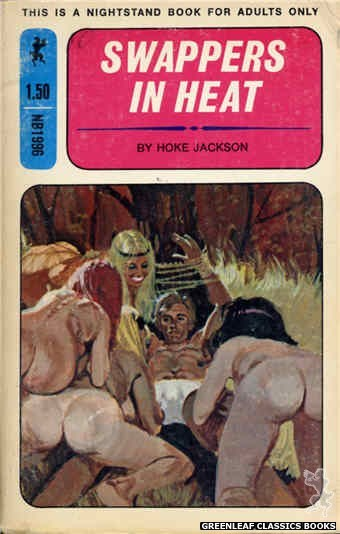 Nightstand Books NB1996 - Swappers In Heat by Hoke Jackson, cover art by Robert Bonfils (1970)