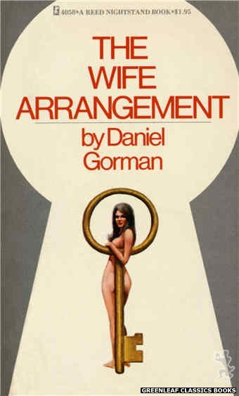 Reed Nightstand 4058 - The Wife Arrangement by Daniel Gorman, cover art by Ed Smith (1974)