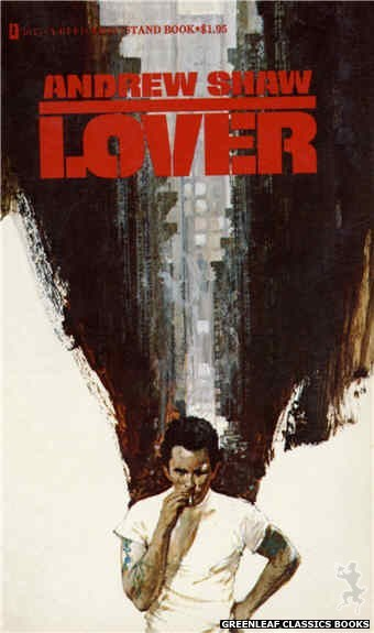 Reed Nightstand 3045 - Lover by Andrew Shaw, cover art by Robert Bonfils (1973)
