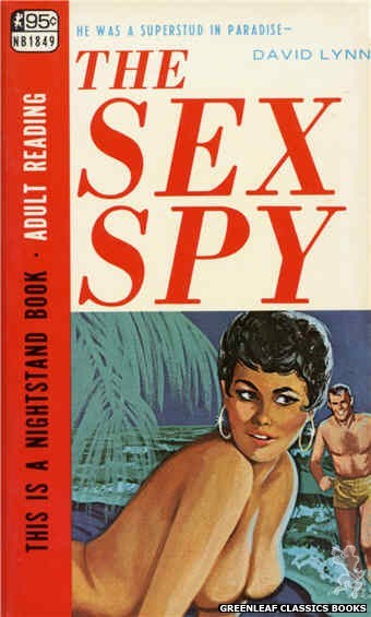 Nightstand Books NB1849 - The Sex Spy by David Lynn, cover art by Unknown (1967)