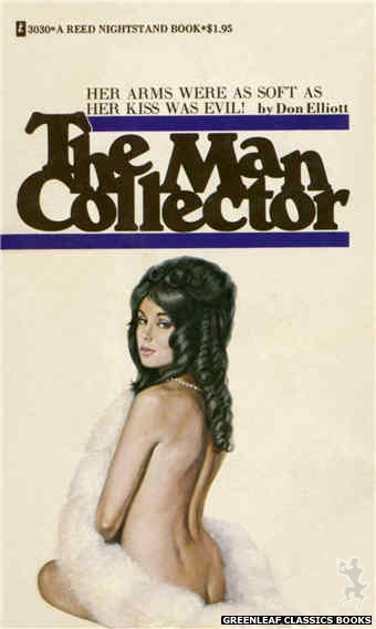 Reed Nightstand 3030 - The Man Collector by Don Elliott, cover art by Ed Smith (1973)