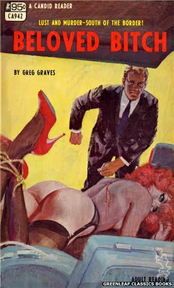 Candid Reader CA942 - Beloved Bitch by Greg Graves, cover art by Unknown (1968)