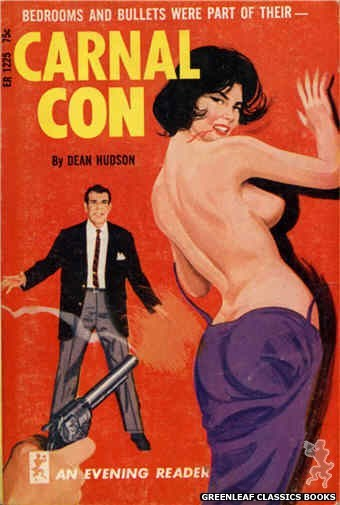 Evening Reader ER1225 - Carnal Con by Dean Hudson, cover art by Unknown (1966)