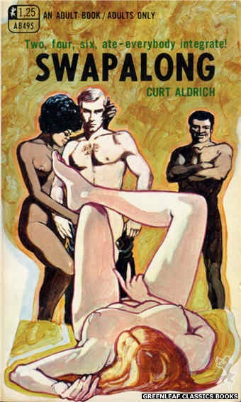 Adult Books AB495 - Swapalong by Curt Aldrich, cover art by Unknown (1969)