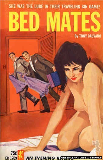 Evening Reader ER1209 - Bed Mates by Tony Calvano, cover art by Unknown (1965)