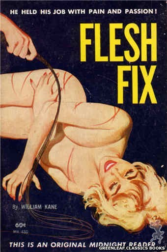 Midnight Reader 1961 MR480 - Flesh Fix by William Kane, cover art by Unknown (1963)