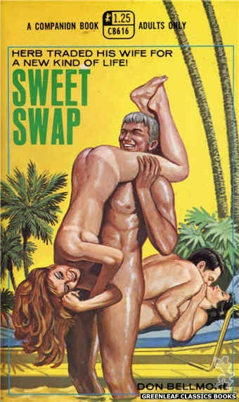 Companion Books CB616 - Sweet Swap by Don Bellmore, cover art by Ed Smith (1969)
