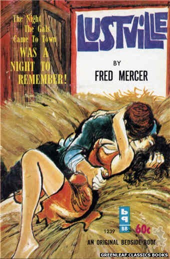 Bedside Books BB 1239 - Lustville by Fred Mercer, cover art by Unknown (1962)