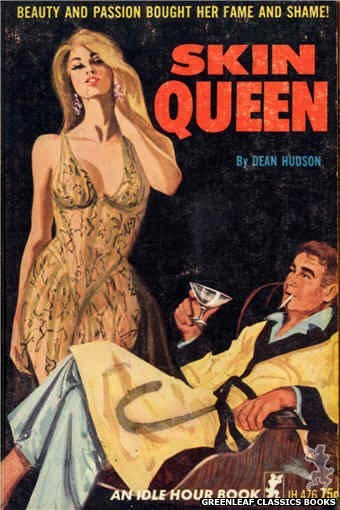 Idle Hour IH476 - Skin Queen by Dean Hudson, cover art by Unknown (1965)