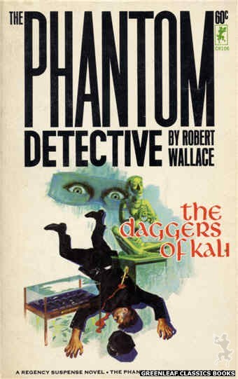 Corinth Regency CR106 - The Daggers of Kali by Robert Wallace, cover art by Robert Bonfils (1965)