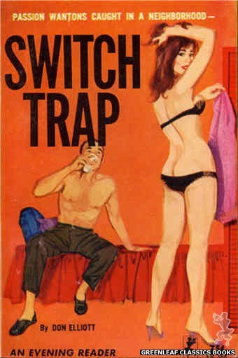 Evening Reader ER754 - Switch Trap by Don Elliott, cover art by Unknown (1964)